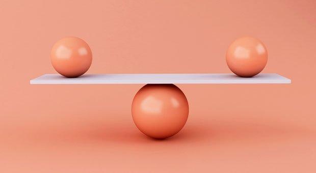 Alles in perfekter Balance? Wer seine Berufung gefunden hat, muss sich darüber keine Gedanken machen.
