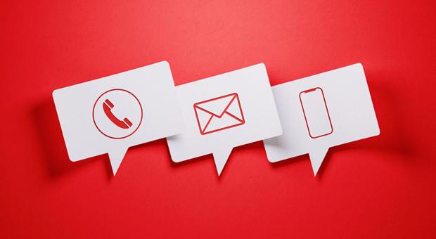 Anruf, E-Mail oder SMS - welche Kanäle sind für die Kundenkommunikation am besten geeignet?