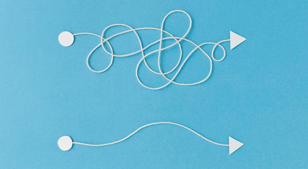 Unternehmen, die aus Daten Schlüsse ziehen wollen, müssen oft - wie Unternehmerin Vanessa Weber - einen Datenwust aufarbeiten.
