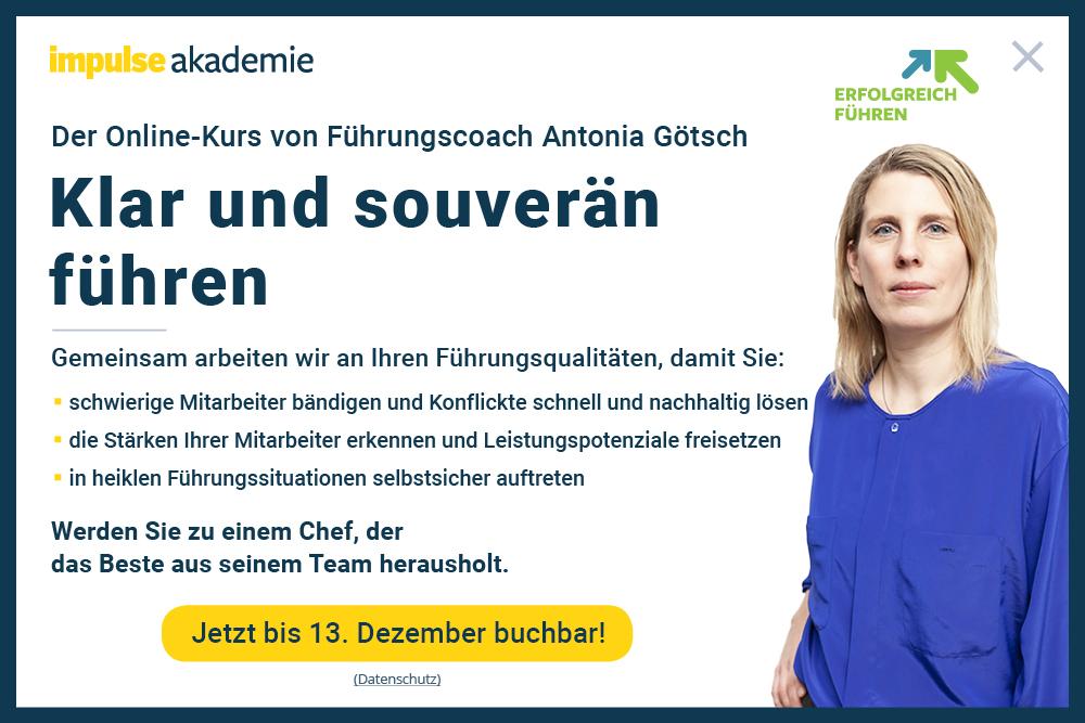 Popup Onlinekurs Führen Herbst 2019