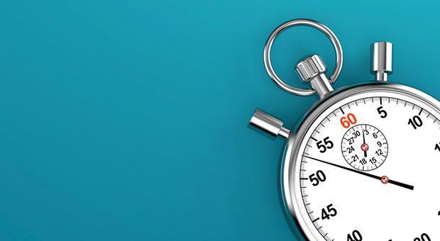 Die Zeit läuft! Beim Timeboxing müssen Sie jedem To-do auf Ihrer Liste ein festes Zeitfenster zuweisen.