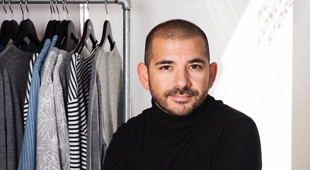 Özgur Aylikci verkauft Kleidung im Geschäft - und online auf Instagram.