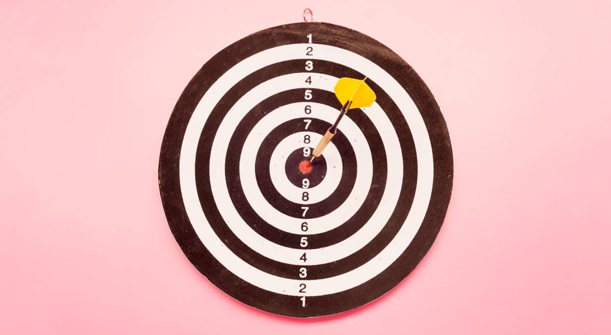 Zielscham kann den großen Zielen im Weg stehen