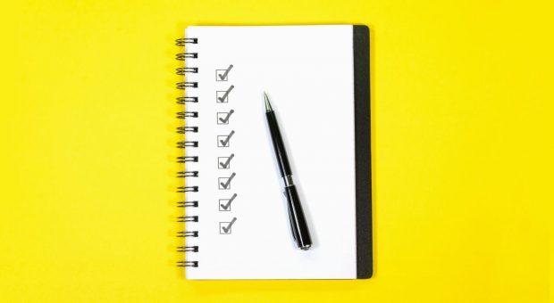 Wenn Sie zu viele Aufgaben im Kopf haben, kann diese Methode weiterhelfen.