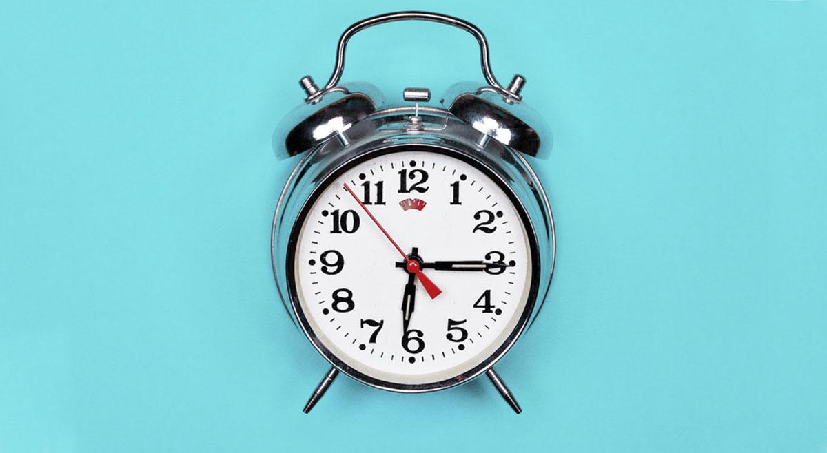 Wenn morgens der Wecker zu spät klingelt, kann das den ganzen Tag ruinieren.