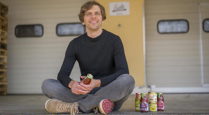 2009 gründete Michael Wiese das Lebensmittelunternehmen Emils Bio-Manufaktur
